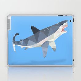Low Poly Great White Shark Laptop & iPad Skin