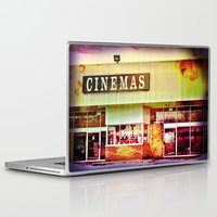 cinema Laptop & iPad Skins featuring Abandoned Cinema by Elina Cate