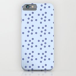 star of david 38 - blue iPhone Case