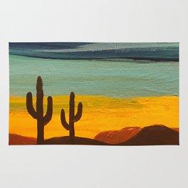Saguaro Sunset Rug