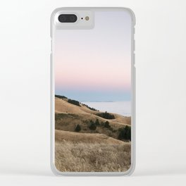 Untitled Sunset #2 Clear iPhone Case