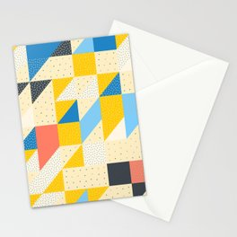 Modular Tiles 6 Stationery Cards