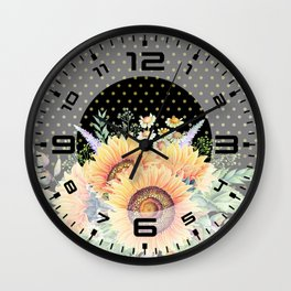 Flower bouquet #35 Wall Clock
