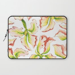 Pink Iris Laptop Sleeve