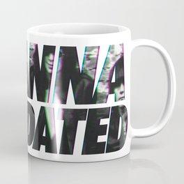 I wanna be sedated Coffee Mug