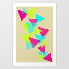 Color Theory 2 Art Print