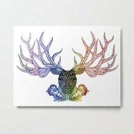 Crown of Antlers Metal Print