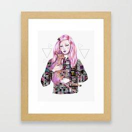 EMBRACE by Kris Tate and Ola Liola  Framed Art Print