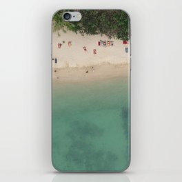 Aerial Secret Beach Koh Phangan Thailand iPhone Skin