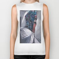 karma Biker Tanks featuring Karma by Sandi Sharp