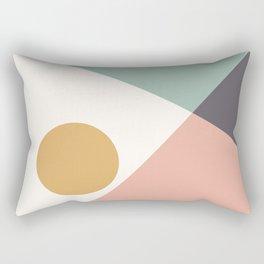 Bauhaus Landscape Rectangular Pillow