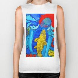 My Fish #Socety6 #buy art #decor Biker Tank