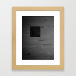 Am Kreuz Framed Art Print