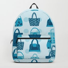 Handbag Heven Blues with Spots Backpack