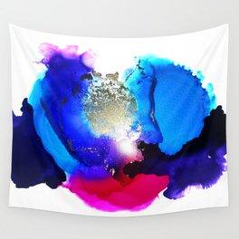 Liquid Petunia Wall Tapestry