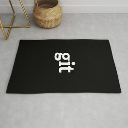 Git version control system Rug