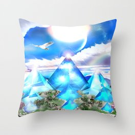 Shambhala Throw Pillow