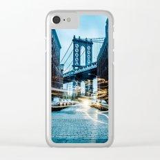 Brooklyn Bridge 2 Clear iPhone Case