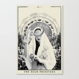 Fig. II - The High Priestess Canvas Print