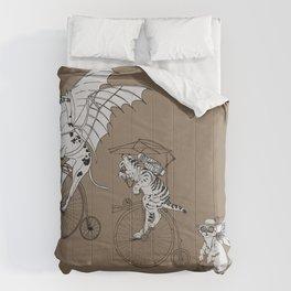 Steam Punk Pets Comforters