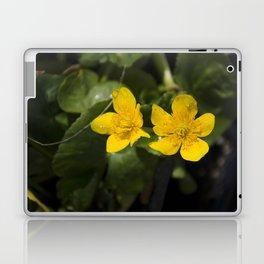 """Fleurs jaunes"" Laptop & iPad Skin"