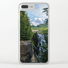 View from Paradise Clear iPhone Case
