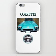 1960 Corvette iPhone & iPod Skin