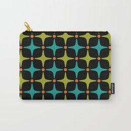 Mid Century Modern Star Pattern 926 Carry-All Pouch