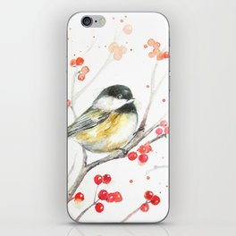 Little Chickadee iPhone Skin