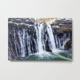 Burney Falls Metal Print