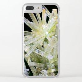 Quartz Crystal Gemstone Rock Stone New Age Clear iPhone Case