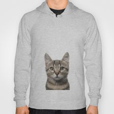 kitten Oil Painting Hoody