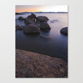 Bonsai Rocks Canvas Print