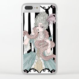 Madame Boa Clear iPhone Case