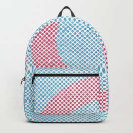 Lying in a zero circle Backpack