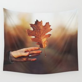 Catching a bit of Autumn Wall Tapestry