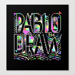 PabloDraw Canvas Print