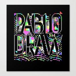 PabloDraw Canvas Print