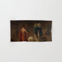 "Eugène Delacroix ""Lycurgus Consulting the Pythia"" Hand & Bath Towel"