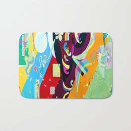 Kandinsky Composition IX Bath Mat