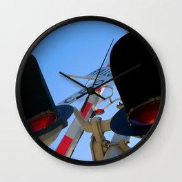 Rail Cro Wall Clock