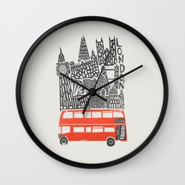 London Cityscape Wall Clock