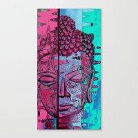 zen Canvas Prints featuring Zen by Rishi Parikh