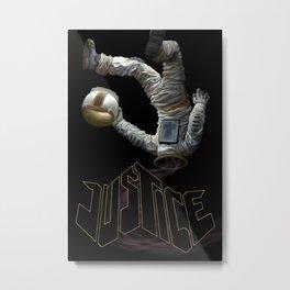 Justice-Planisphere Metal Print