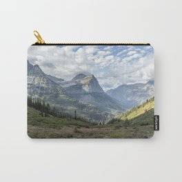 Catching a View from Going to the Sun Road Carry-All Pouch
