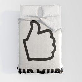 GUD WURK (Good work) Comforters