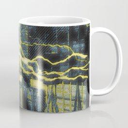 Nikola Tesla Sitting In His Experimental Station Reimagined 4 Coffee Mug