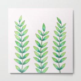 big plant friends Metal Print
