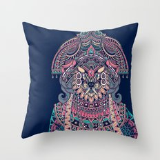 Queen of Solitude Throw Pillow