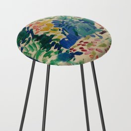 Landscape at Collioure - Henri Matisse - Exhibition Poster Counter Stool